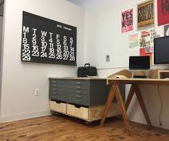 Diy File Cabinet Desk by Flat File Base 3 Steps With Pictures
