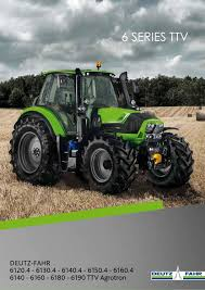deutz fahr 6 series ttv english brochure by deutz fahr issuu