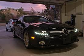 mercedes headlights mercedes sl550 custom led headlights mercedes benz lighting