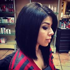 short to long haircut bob angled bob asymmetrical bob hair by