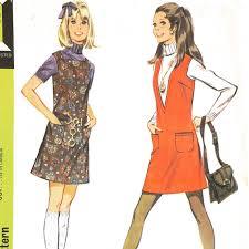 1960 u0027s jumper dress vintage sewing pattern by midcenturymyrtle
