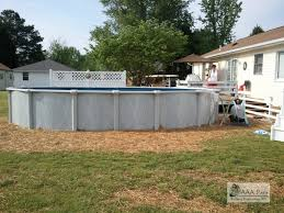 Backyard Above Ground Pools by Above Ground Pools Costa Del Sol U0026 Regency Call Aaa Pools 540