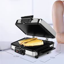 Sandwich Toaster With Removable Plates Black Decker 3 In 1 Waffle Maker U0026 Indoor Grill Griddle G48td