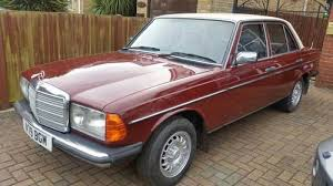 mercedes 230e mercedes 230e 1984 for sale on car and uk c778394