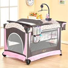 Diapers Changing Table Portable Baby Crib Multi Functional Folding Baby Bed With Diapers
