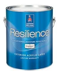 resilience exterior acrylic latex paint sherwin williams