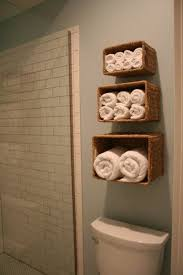 Towel Storage Ideas For Small Bathrooms Storage Idea For Small Bathrooms Baskets For Towel Holders Or