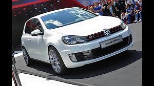 white volkswagen gti volkswagen golf gti concept white
