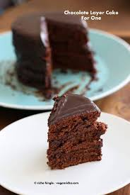 vegan s day vegan chocolate layer cake for one no bake vegan richa