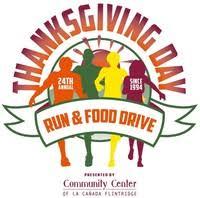 24th annual thanksgiving day run food drive la cañada