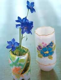 Pottery Vase Painting Ideas 15 Creative Ideas To Recycle Plastic Bottles For Decorative Vases