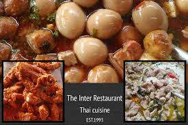 inter cuisine ร านอาหาร the inter restaurant about menu