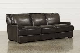 Leather Furniture Saxton Sofa Living Spaces