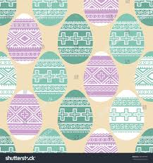 easter ornamental eggs seamless pattern stock vector 565995904