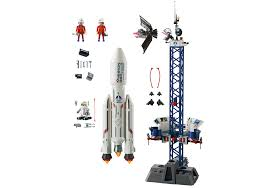 space rocket with launch site 6195 playmobil usa