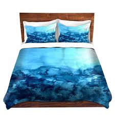 Microfiber Duvet Cover Queen Turquoise Blue Fine Art Duvet Covers King Queen Twin Nature
