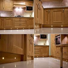 Kitchen Kickboard Lights Set Of 20 15mm Warm White Led Decking Deck Plinth Lights