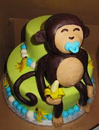 monkey decorations for baby shower photo the cake diaries monkey image