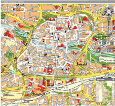Regensburg Germany Map by Nurnberg Map