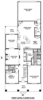 house plans narrow lots apartments house plans for narrow lots house plans for