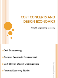03 cost concepts and design economics che40a mathematical