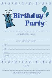 blue party invitations vertabox com