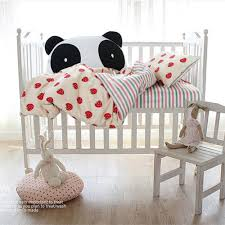 girls cotton bedding cute colorful stripes bedspread strawberry quilt cover pillowcase