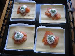 canap au saumon fum et mascarpone petits feuilletés au saumon fumé ma p tite cuisine à moi