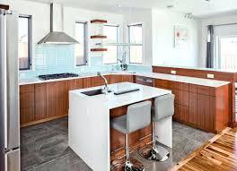 grande cuisine avec ilot central petit ilot central de cuisine cuisine avec arlot central