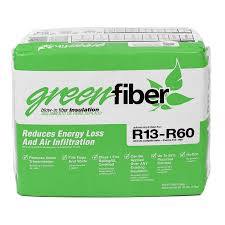 Shop Greenfiber R60 40 Sq Ft Cellulose Blown In Insulation With