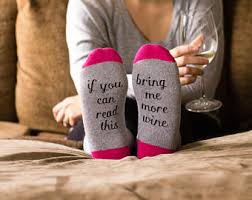 more wine socks etsy