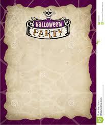 halloween invitation borders for free u2013 fun for halloween