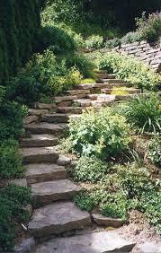 beautiful garden stairs with rocks u0027 garden outdoors