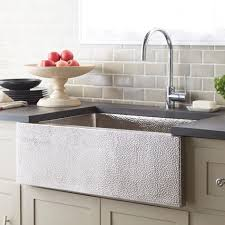 Double Sink Kitchen Size by Sinks Hammered Nickel Kitchen Sink Paragon Brushed Nickel