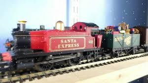 christmas 2014 featuring hornby u0027s santa u0027s express train set youtube
