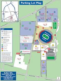 Dodger Stadium Parking Map Nfl Buffalo Bills Fly To The Game