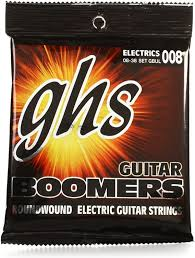 light electric guitar strings ghs gbul guitar boomers roundwound ultra light electric guitar