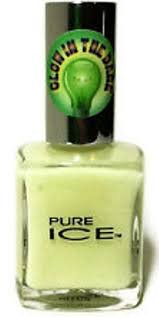 amazon com pure ice glow in the dark nail polish 0 5 oz beauty