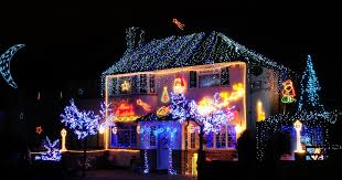 houses with christmas lights near me christmas 2014 search for surrey s best decorated house get surrey
