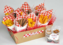 gift cookies cookie fries gift tray 12 cartons the cookie joint