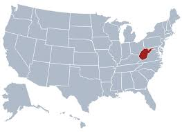 map of united states countries and capitals west virginia state information symbols capital constitution