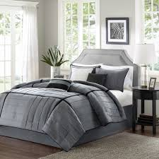 Madison Park Bedding Amazon Com Madison Park Bridgeport 7 Piece Comforter Set Grey