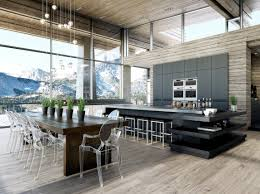 types of modern dining room designs with white and wooden accent