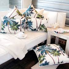 Palm Tree Bedspread Sets Oasis Palm Tree Cushions Escapetoparadise Com Au Escape To