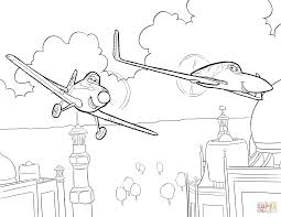 plane coloring page disneys planes coloring pages sheet free