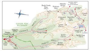 Map Of Leavenworth Wa Meadows