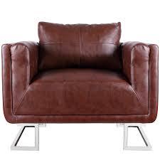 fauteuil bebe avec prenom la boutique en ligne fauteuil en cuir mélangé brun avec pieds