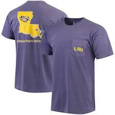 Southern Comfort Merchandise Men U0027s Purple Lsu Tigers Southern Collegiate Comfort Colors State T