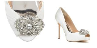 wedding shoes embellished damy our top 5 favorite wedding shoes by badgley mischka