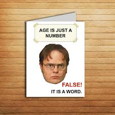Funny Meme Cards - the office tv show birthday card printable the office cards